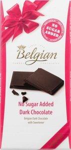 Шоколад горький Belgian без сахара, 100 г