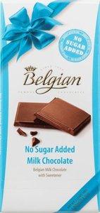 Шоколад молочный Belgian без сахара, 100 г
