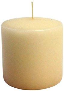 Свеча парафиновая Evis цилиндр айвори, 60 мм