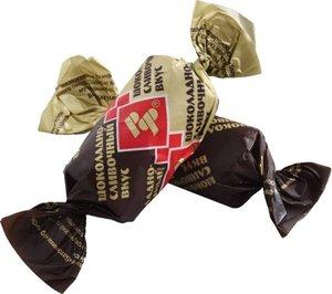 Конфеты Батончики РотФронт шоколадно-сливочный вкус, 1 кг