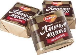 Конфеты Птичье молоко РотФронт сливочно-ванильные, 1 кг