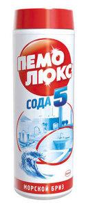 Чистящий порошок ТМ Пемолюкс Сода 3 эффект морской бриз
