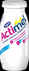 Кисломолочный продукт Actimel (Актимель) 2,6% ТМ Danone (Данон)
