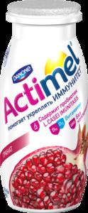 Напиток кисломолочный Actimel Гранатовый 2,5% ТМ Danon (Данон)
