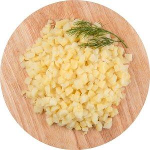 Картофель отварной, кубик ТМ Глобус