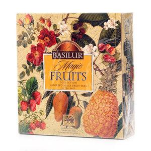 Чайный набор Magic Fruits (Мэджик Фрутс) Волшебные фрукты пакетированный 40 шт ТМ Basilur (Базилур)