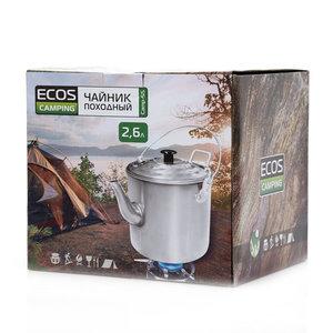 Чайник походный 2,6 л ТМ Ecos (Экос)