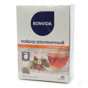 Чайный напиток ройбуш земляничный ТМ Bonvida (Бонвида)