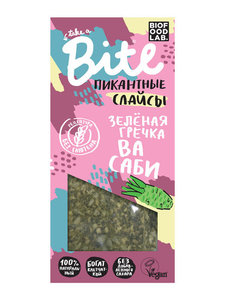 Безглютеновые слайсы - зелёная гречка васаби ТМ Bite (Байт)