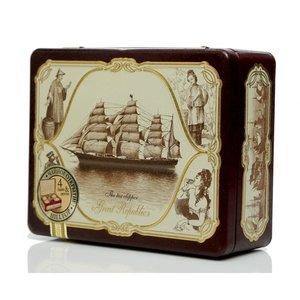 Чай черный байховый в чайном наборе Морская шкатулка ТМ Hilltop (Хиллтоп)