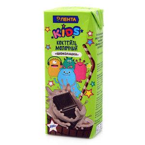 Коктейль молочный шоколадный ТМ Лента