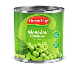 Горошек нежный деликатесный ТМ Green Ray (Грин Рэй)