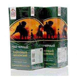 Чай черный Цейлонский 2*25*2г ТМ Fine Food (Файн Фуд)