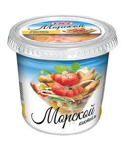 Коктейль из морепродуктов с креветками (имитация) в рассоле Морской ТМ Vici (Вичи)