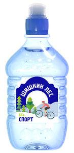 Вода питьевая чистая негазированная спорт ТМ Шишкин Лес