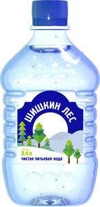Вода питьевая чистая негазированная ТМ Шишкин Лес