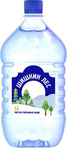 Вода питьевая негазированная ТМ Шишкин лес