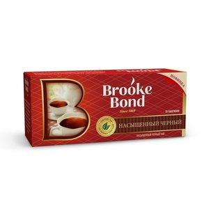 Чай черный в пакетиках Насыщенный 25*1.8 г ТМ Brooke Bond (Брук Бонд)
