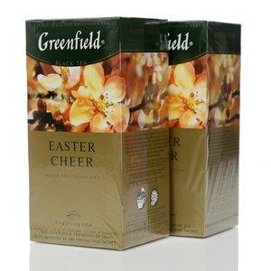 Чай черный 2*25*1,5г ТМ Greenfield (Гринфилд) Easter Cheer