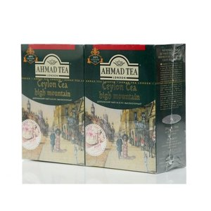 Чай черный Ceylon Tea high mountain 2*200г ТМ Ahmad Tea (Ахмад Ти)
