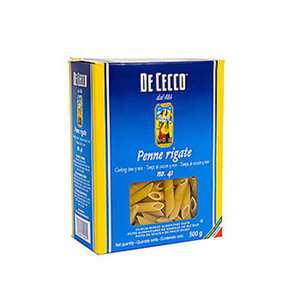 Макаронные изделия Penne Rigate (Пенне Ригате) ТМ De Cecco (Дэ Кекко)