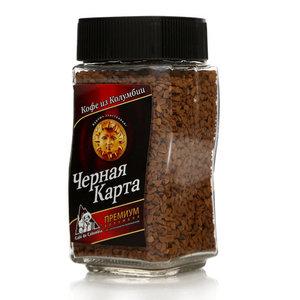 Кофе растворимый сублимированный ТМ Черная Карта