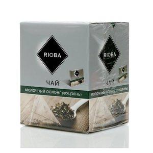 Чай зеленый молочный оолонг (фуцзянь) ТМ Rioba (Риоба), 20 пакетиков