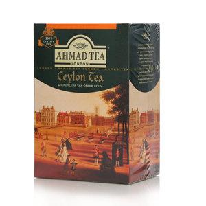Чай черный байховый листовой цейлонский Орандж пеко TM Ahmad Tea (Ахмад Ти)