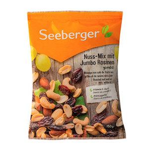 Смесь Джамбо обжаренные ядра орехов и темного изюма ТМ Seeberger (Сибергер)