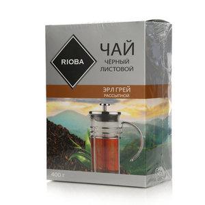 Чай черный листовой Эрл Грей рассыпной ТМ Rioba (Риоба)