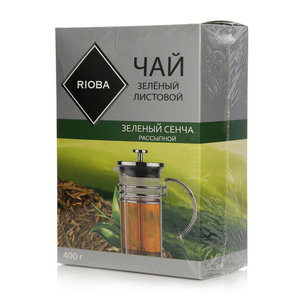 Чай зеленый листовой Зеленый сенча рассыпной ТМ Rioba (Риоба)