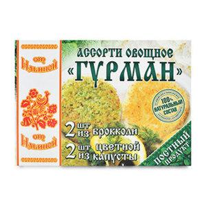 Ассорти овощное Гурман брокколи, цветная капуста ТМ От Ильиной