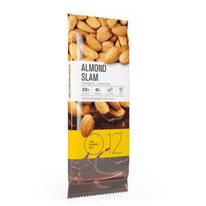 Вафельный батончик с белковой начинкой с какао и миндалем в молочной глазури ТМ О12