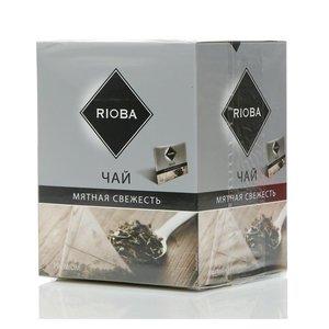 Чай черный ТМ Rioba (Риоба) Мятная Свежесть, 20 пакетиков
