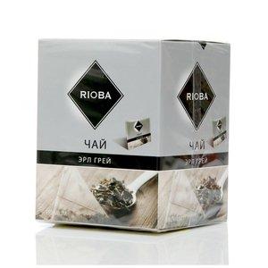 Чай черный байховый ТМ Rioba (Риоба) Эрл Грей, 20 пакетиков