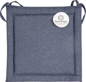 Подушка на стул цвет - индиго ТМ Home & style (Хоум энд стайл)