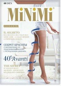 Колготки женские MiNiMi Avanti цвет: daino/цвет загара, размер 3, 40 den