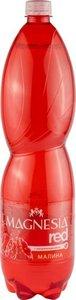 Напиток на минеральной воде Magnesia Red Малина с натуральным соком газированный, 1,5 л