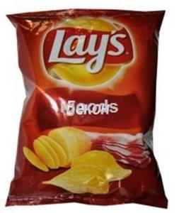 Чипсы из натурального картофеля со вкусом бекона ТМ Lay's (Лэйс)