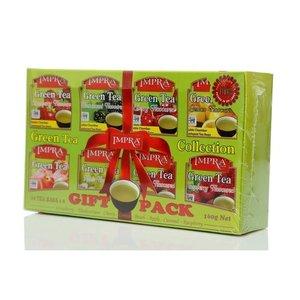 Чай зеленый Импра Коллекция (8 видов по 10 пакетиков) ТМ Impra (Импра)