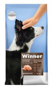 Корм для взрослых собак средних пород из курицы ТМ Winner (Виннер)