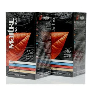 Чай черный 2*20*2г ТМ Maitre (Мэтр) Assorted black teа