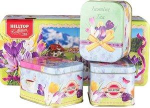 Набор чайный ассорти шкатулка Праздничный сюрприз 3*50г ТМ Hilltop (Хиллтоп)