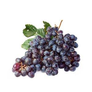 Виноград черный без косточек (корзинка)