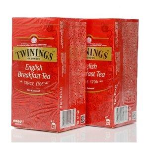 Чай черный English Breakfast Tea 2* 25*2г ТМ Twinings (Твайнингс)