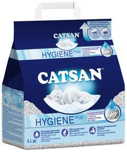 Наполнитель для кошачьего туалета впитывающий, 5 л ТМ Catsan (Катсан)