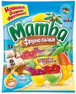 Мармелад жевательный Mamba (Мамба) Команда пиратов ТМ Stork (Шторк)
