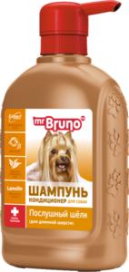 Шампунь-кондиционер для собак послушный шелк ТМ Mr.Bruno (Мс.Бруно)