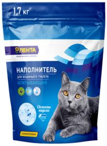 Наполнитель для кошачьего туалета ТМ Лента