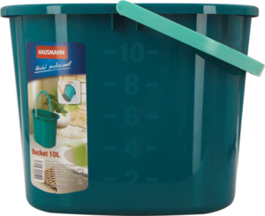 Ведро для мытья полов цвет: мятный, 37х26х26 см, 10 л ТМ Hausmann (Хаусманн)